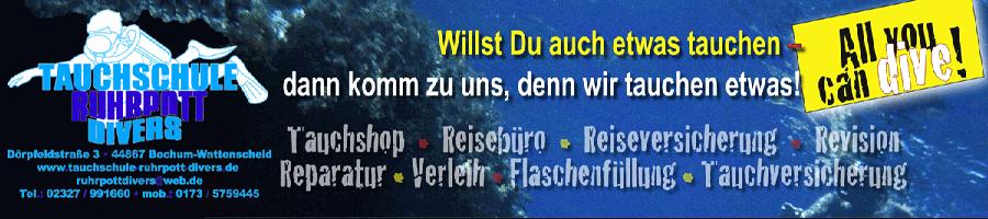 Ruhrpott Divers, Tauchen & Reisen weltweit